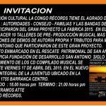 La Congo Records invita a inauguración de proyecto de bandas emergentes La Fábrica 2015