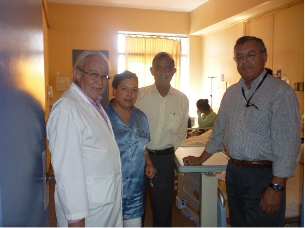 Primer aporte de la Fundación de Desarrollo San Antonio Siglo XXI, permitirá disminuir listas de espera de cirugías, en el hospital Claudio Vicuña