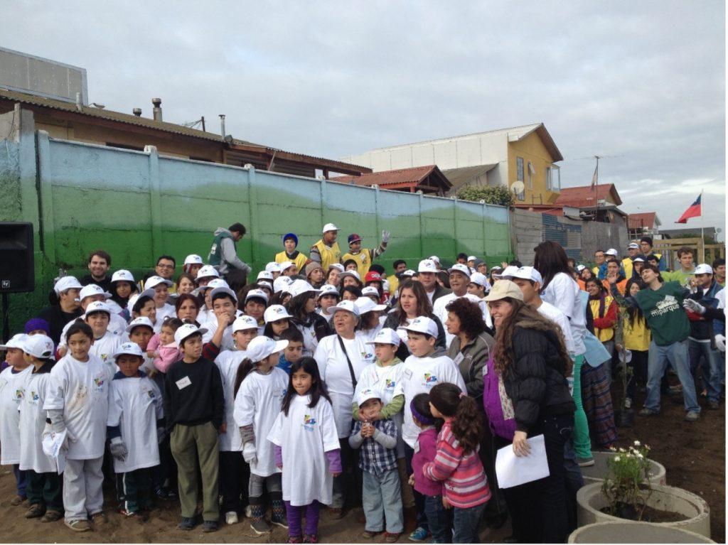 Junto a División El Teniente de Codelco: Fundación De Desarrollo San Antonio Siglo XXI, entrega su primera Plaza Comunitaria