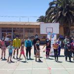 Niños y jóvenes del Club Atlético San Antonio reciben su «Agenda del Corredor 2021»