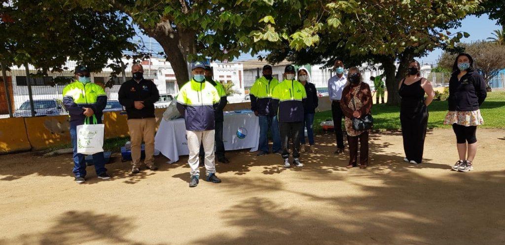 Consejo Comunal Ambiental entrega elementos de protección personal a Recicladores de San Antonio