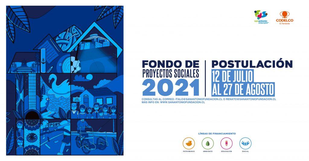 Convocatoria Fondo Proyectos Sociales 2021