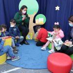 Fundación San Antonio Siglo XXI y Codelco El Teniente inauguraron espacio lector en jardín infantil Estrellita de Mar